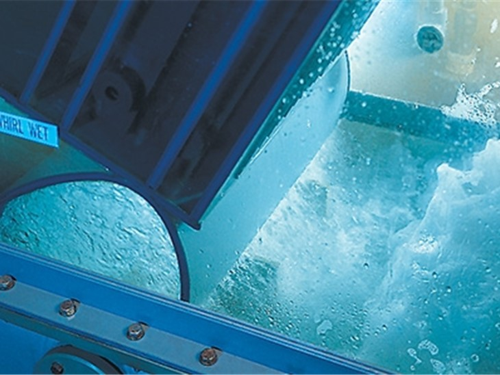 Sistema di raccolta polvere whirl / wet